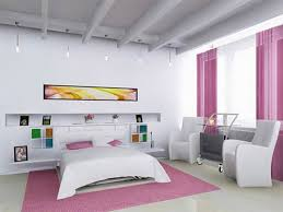 Bed With Tv Built In How To Decorate A Small Master Bedroom White Wooden Laminate Study