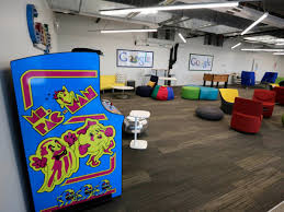 google office around the world. Foosball And Arcade Games In Chicago Office Google Around The World I
