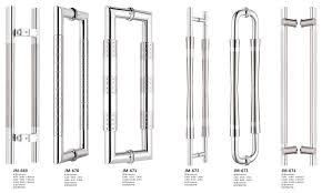 gallery photos for glass door handle types