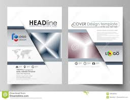 Business Templates For Brochure Magazine Flyer Annual Report