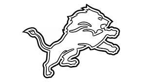 astonishing pictures of lions to draw how the detroit logo nfl