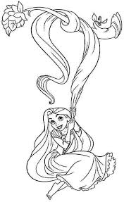 Disney Tangled Coloring Pages Printable Coloring Sheets Disney