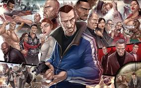 free grand theft auto iv gta 4 high quality wallpaper id 227370 for