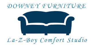 furniture store logo. Downey Furniture - La-Z-Boy Comfort Studio, Logo Store