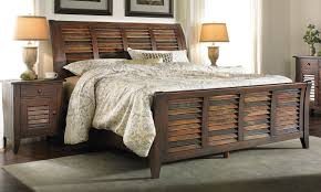 mahogany sleigh bed. Delighful Bed Picture Of Solid Mahogany Plantation King Sleigh Bed Intended L