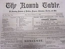 1868 the round table newspaper lot of 11 presidential conventions np 1732