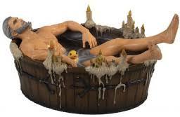 <b>Фигурка The Witcher</b> 3: Wild Hunt – Geralt In The Bath - купить по ...