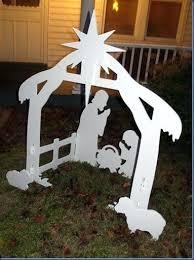 outdoor wooden nativity set outdoor wooden nativity set plans