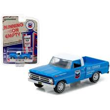1972 Ford F-100 Chevron Pickup Truck 1/64 Diecast Model Car By ...