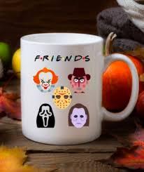 Halloween mugs and coffee cups: Horror Movie Mug Halloween Coffee Mug Scream Mug It Mug Etsy Halloween Coffee Mugs Halloween Mug