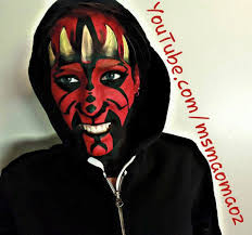 picture of darth maul makeup transformation picture of darth maul makeup transformation