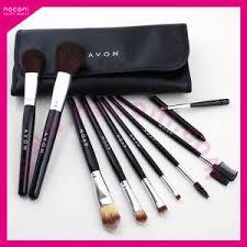 avon brand makeup brush set