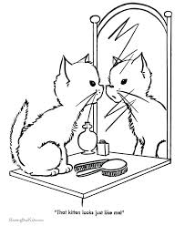 kittens coloring pages printable printable kitten coloring pages best of best colouring pages images on of best kitten coloring pages free printable