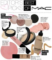 list of make up brands here best of mac