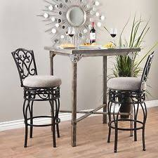 wrought iron bar chairs. Set Of 2 Swivel Bar Stools 30 Inch Height Padded Seat Black Wrought Iron Design Chairs A