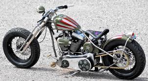 brass balls bobbers military bike at cyril huze post custom