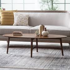 Belham Living James Round Mid Century Modern Marble Coffee Table | Hayneedle