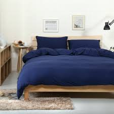 navy blue duvet cover canada solid