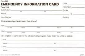 Emergency Card Template Cedaddabfbe Great Printable Emergency Card Template Gfreemom Com