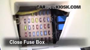 interior fuse box location 2005 2009 subaru legacy 2007 subaru 2006 subaru outback owner's manual at 2009 Subaru Outback Fuse Box Diagram