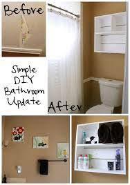 our simple diy bathroom update bare