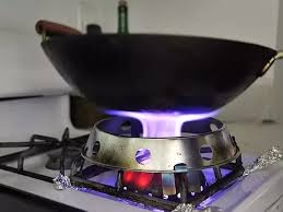 gas stove flame. Better Explanation: Gas Stove Flame A