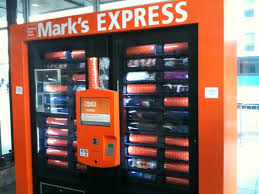 Stamp Vending Machine Locations Fascinating Mark's Work Warehouse Vending Machines Dispense Needed Clothing In