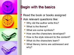 write a book essay how to write a book report