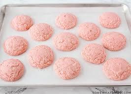 Easiest Cake Mix Cookies Recipe 3 Ingredients Somewhat Simple