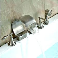 wall mount bathtub faucet with handheld shower handheld shower head for bathtub faucet with tub attachment f