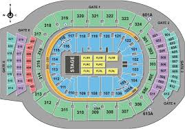 Acc Centre Seating Chart Ticketmagic