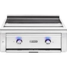 lynx asado 30 inch built in natural gas flat top grill l30ag ng bbq guys