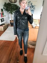 madewell washed leather motorcycle jacket review cairoamani com