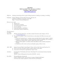 Undergraduate Student Resume Examples Examples Of Resumes