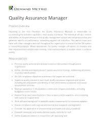 Quality Control Resume – Fathunter