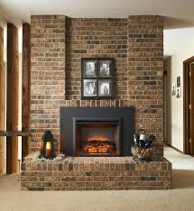32 x 23 built in zero clearance electric fireplace insert