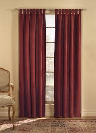 middlebury solid semi sheer tab top single curtain panel