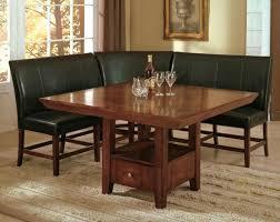 m 4 piece breakfast nook dining room set table corner bench seating dinette ebay