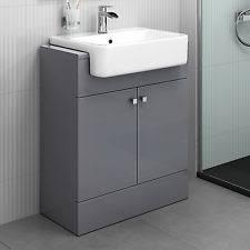 bathroom vanity units with sink. modern bathroom furniture storage vanity unit sink basin grey 660 mm units with n