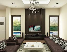 mid century living room design in neutral color scheme feats dull lighting concept and exclusive bulp