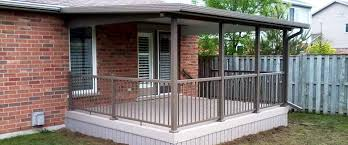 bakker aluminum awnings patio covers
