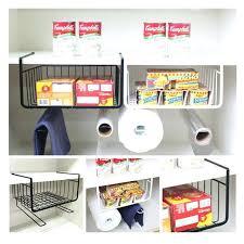 black hanging baskets 1 closet shelf storage rack black white storage rack hanging basket kitchen cabinets