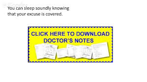 doctor notes doctors excuse template doctor s note doctor notes doctors excuse template doctor s note to return to work