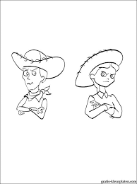 Jessie En Woody Van Toy Story Gratis Kleurplaten