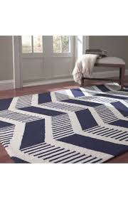 navy and white striped area rugs rug designs blue chevron