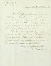 A Letter Of Recommendation Written By Mexican Consul In Sa Flickr