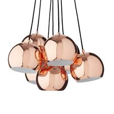 43 most first rate copper koge ball multi pendant lamp ceiling light with black cord