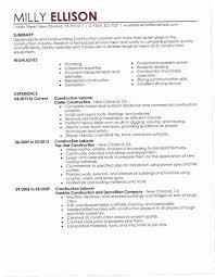 Construction Laborer Job Description For Resume Enc3 General Laborer