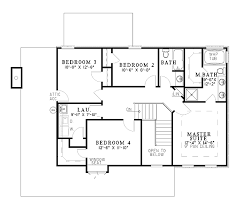 House Plan at FamilyHomePlans comColonial House Plan Level Two