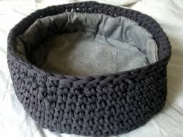 Crochet Cat Bed Pattern